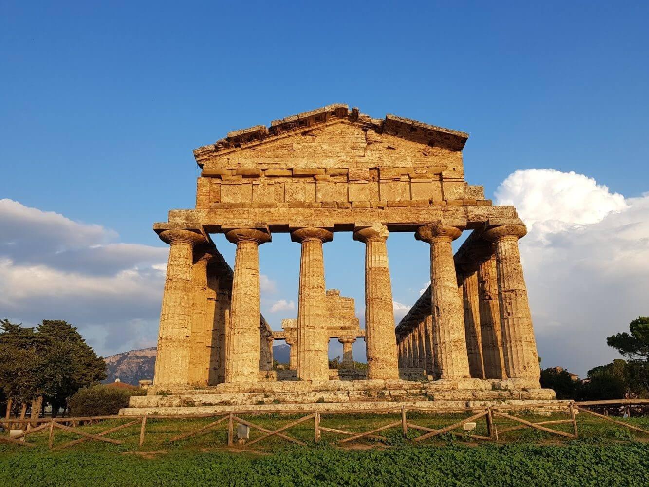 Tempio di Atena Paestum